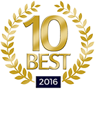 10 Best 2016 for Client Satisfaction