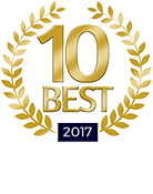 10 Best 2017 for Client Satisfaction - Personal Injury